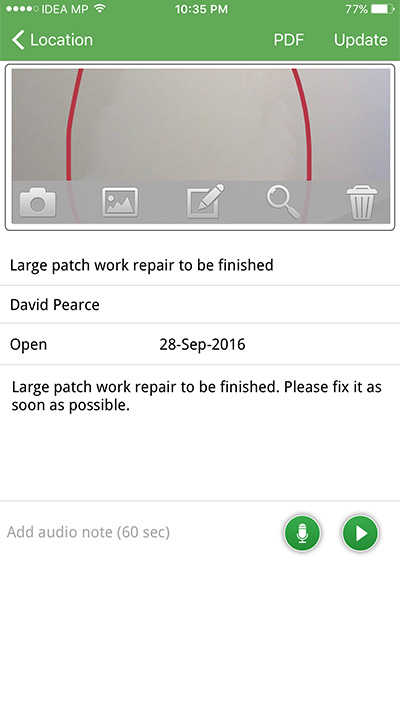SnagiD - Manage all your projects, snags, defects, inspections, issues for site works